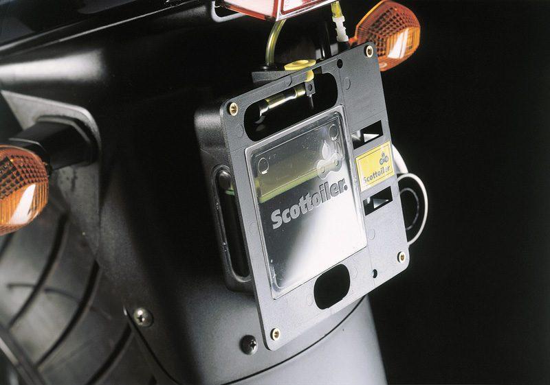 Scottoiler Magnum HCR Fitted to Bike