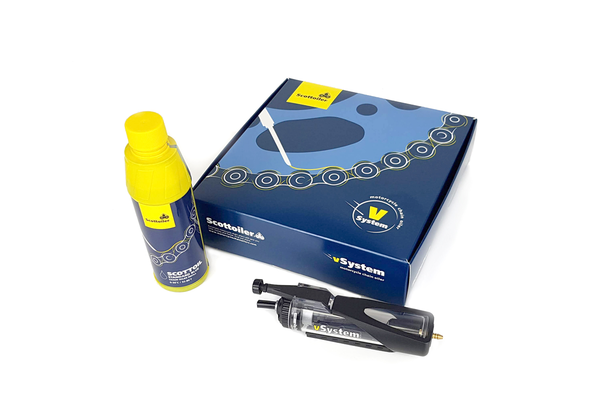 Scottoiler vSystem Motorcycle Chain Oiler - Perfect for chain lubrication