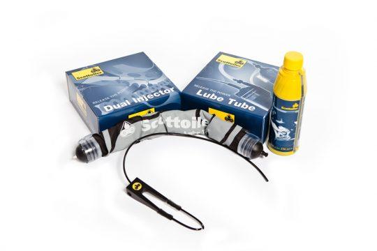 Scottoiler Accessories Lube Tube Dual Injector