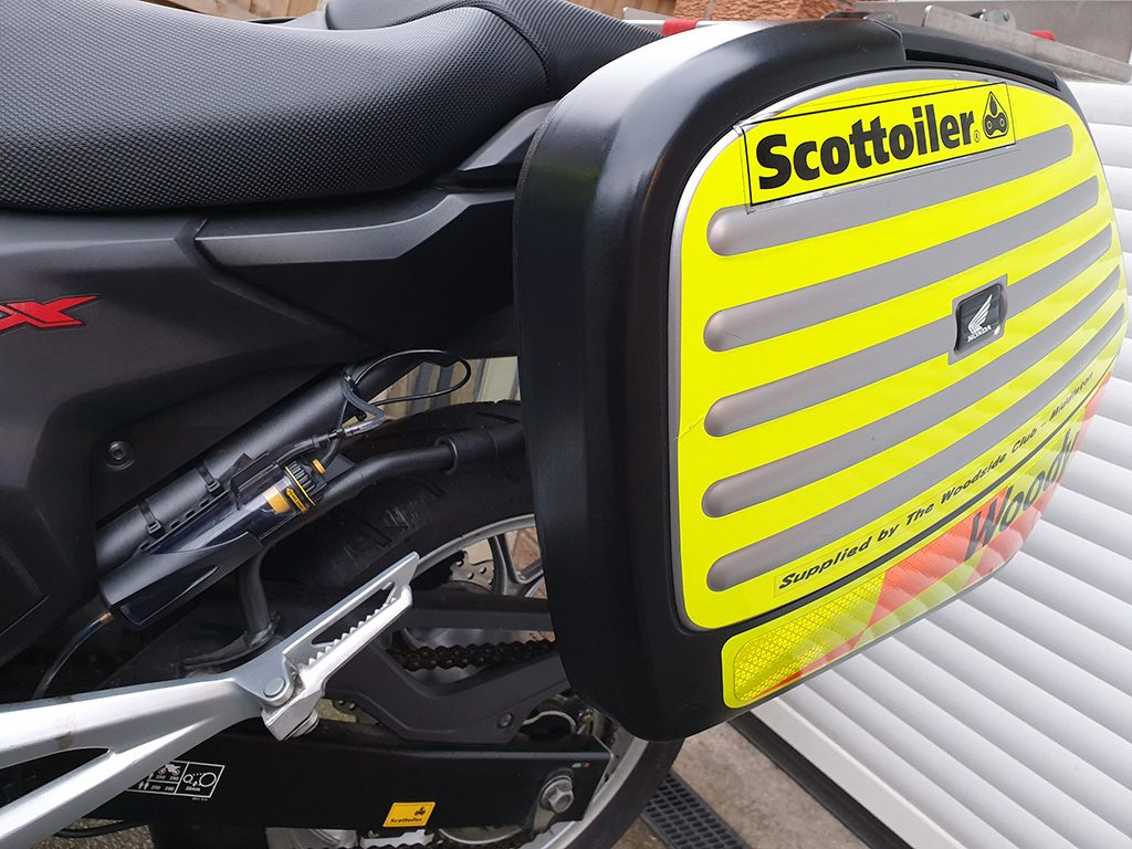 Blood Bikes Scottoiler
